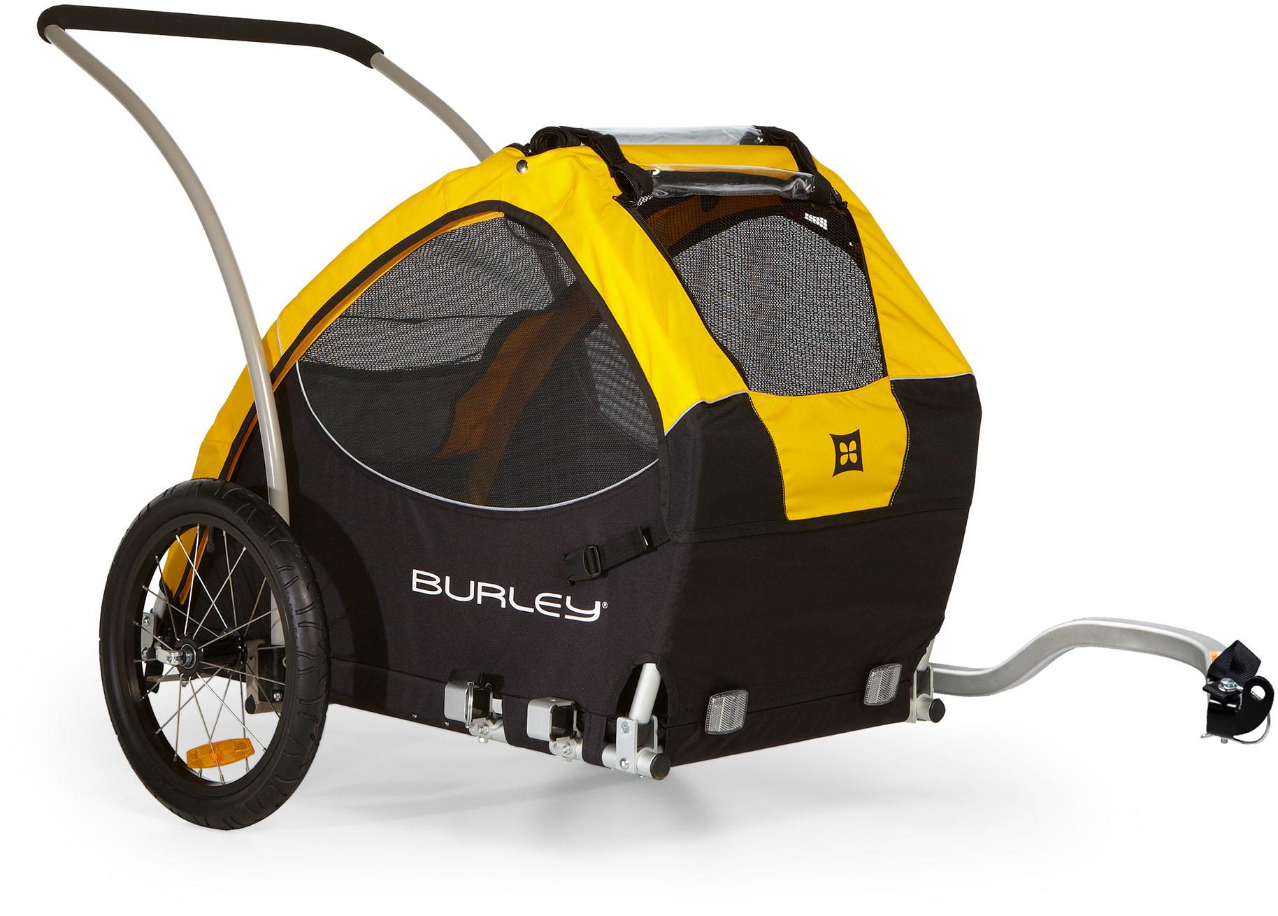 Burley Fahrradhundeanhänger Tail Wagon, schwarz