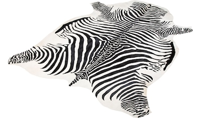Fellteppich, »Zebra«, Trendline, fellförmig, Höhe 3 mm, gegerbt kaufen