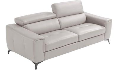 Egoitaliano 2,5-Sitzer »Francine«, beidseitige Relax-Funktion, Kopfteile manuell... kaufen