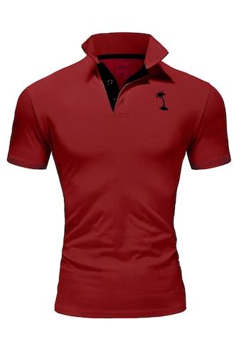 behype Poloshirt »PALMSON« kaufen