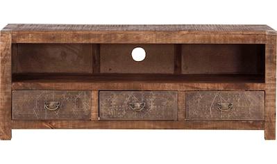 Gutmann Factory Lowboard »Oriental«, aus Massivholz Mango kaufen