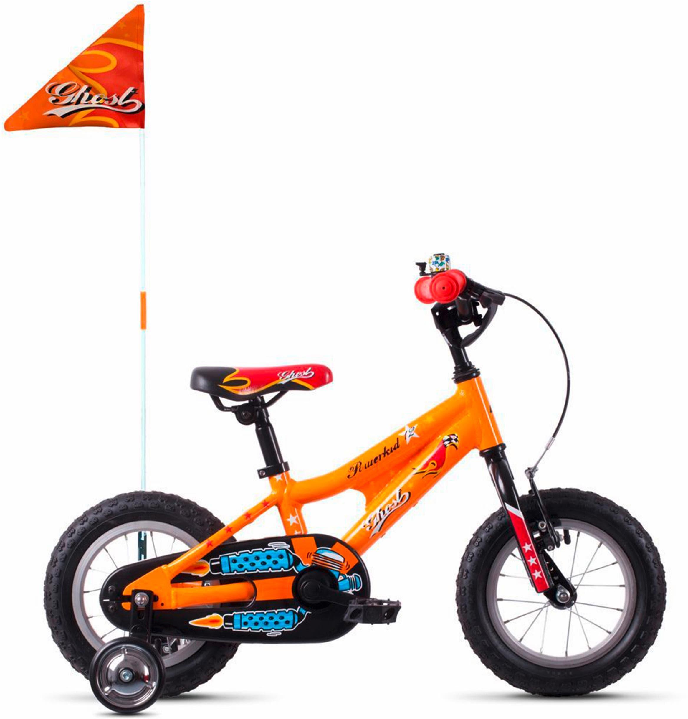 Ghost Kinderfahrrad POWERKID AL 12 K orange Kinder Kinderfahrräder Fahrräder Zubehör Fahrrad