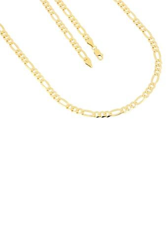 Firetti Kette ohne Anhänger »in Figarokettengliederung, 5,3 mm, glänzend, vergoldet, klassisch, zeitlos, 6-fach diamantiert« kaufen