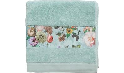 Essenza Gästehandtuch »Fleur«, (3 St.), Bordüre im wunderschönen Blumenprint kaufen