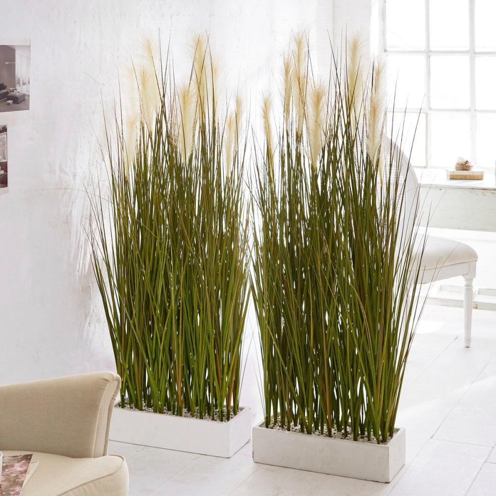 Schneider Kunstpflanze Raumtrenner-Gras Wohnen/Accessoires & Leuchten/Wohnaccessoires/Kunstpflanzen/Kunstgräser