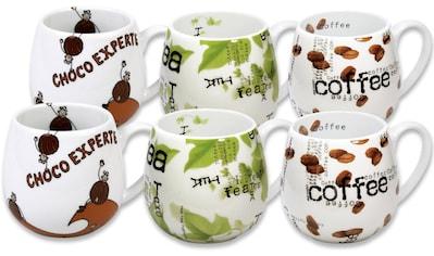 """Könitz Becher """"Choco  -  Tea  -  Coffee"""" (6 - tlg.) kaufen"""