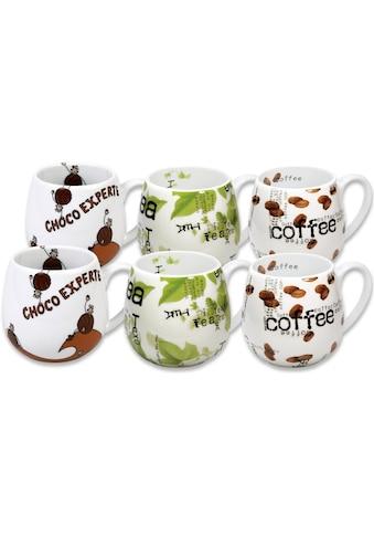 Könitz Becher »Choco - Tea - Coffee«, (Set, 6 tlg., 6 Becher), 420 ml, 6-teilig kaufen