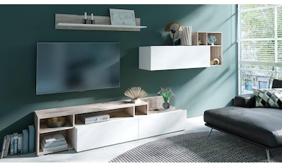 TRENDMANUFAKTUR Wohnwand »Bax« (Set, 3 - tlg) kaufen