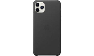 Apple Smartphone-Hülle »iPhone 11 Pro Max Leder Case«, iPhone 11 Pro Max kaufen