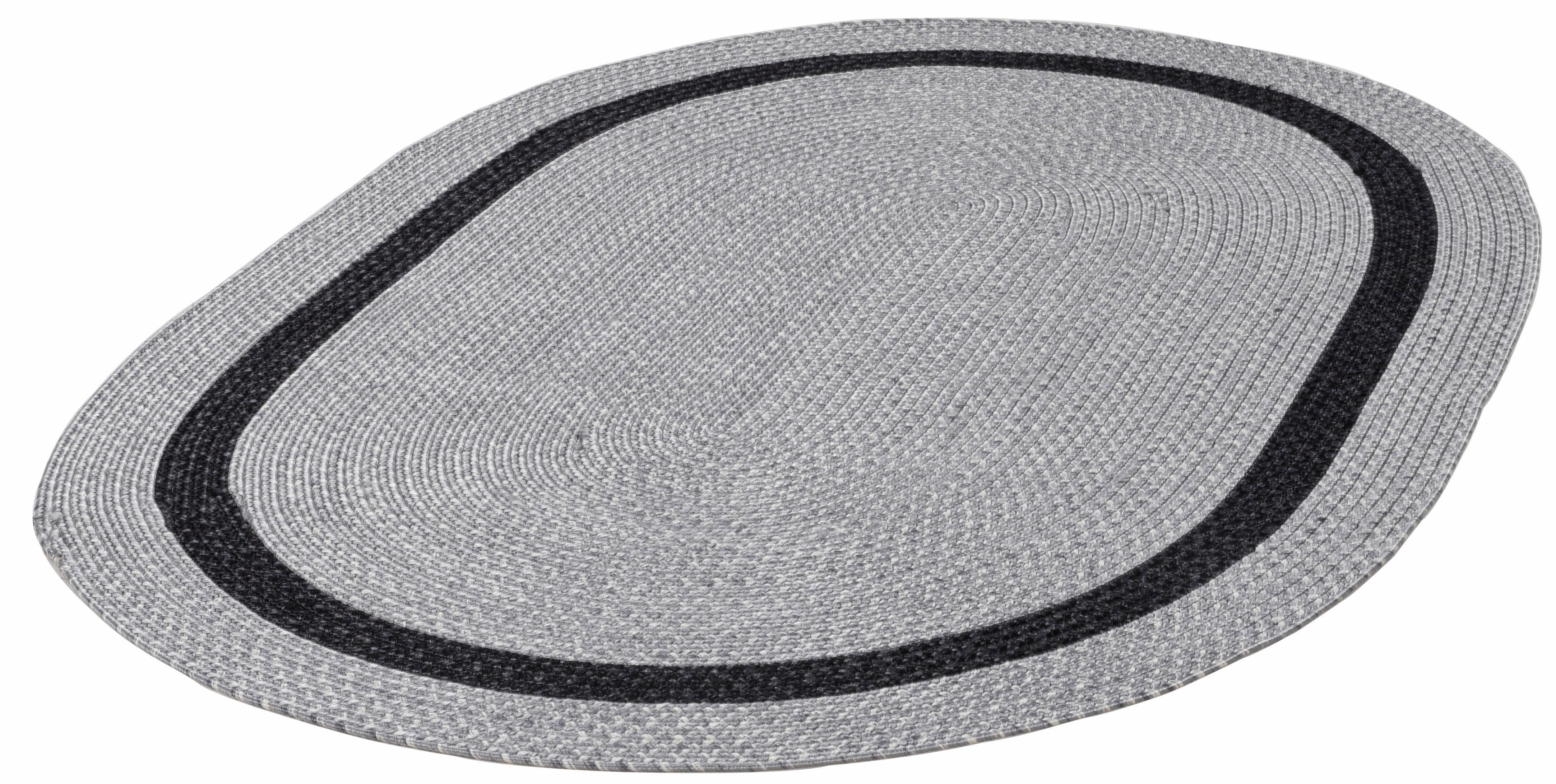 Teppich Benito THEKO oval Höhe 6 mm handgewebt