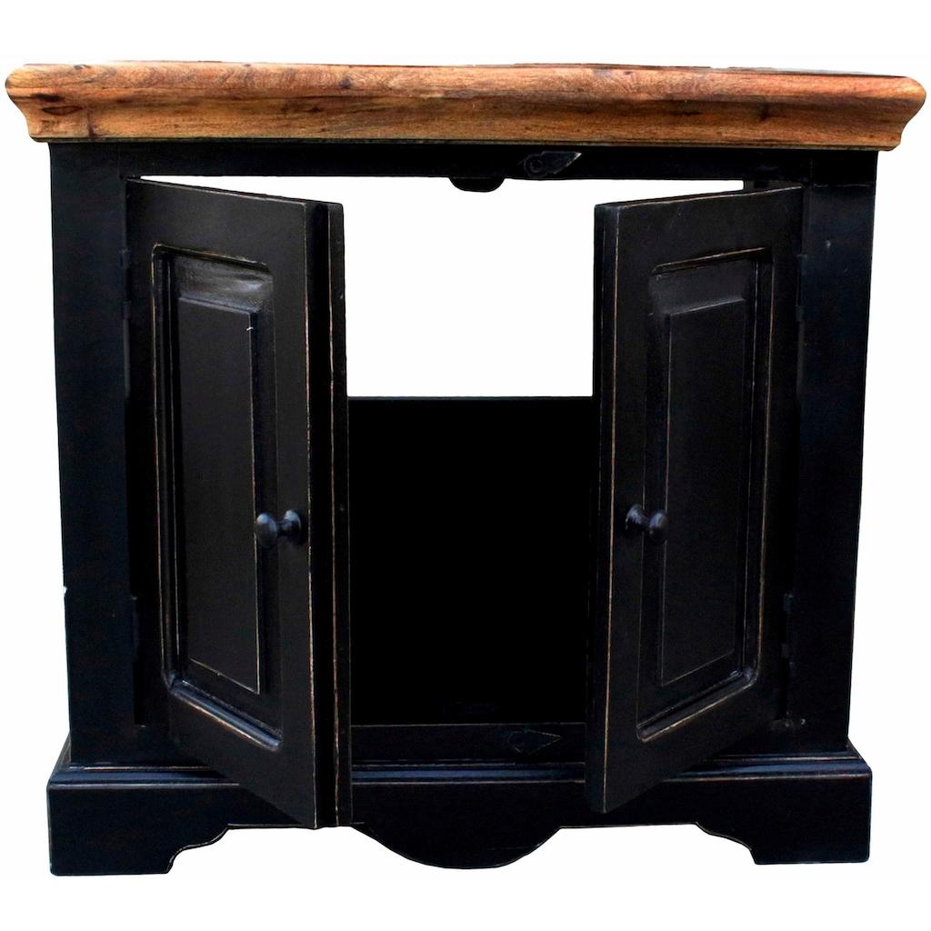 SIT Waschbeckenunterschrank »Corsica«, Breite 66 cm, Shabby Chic, Vintage