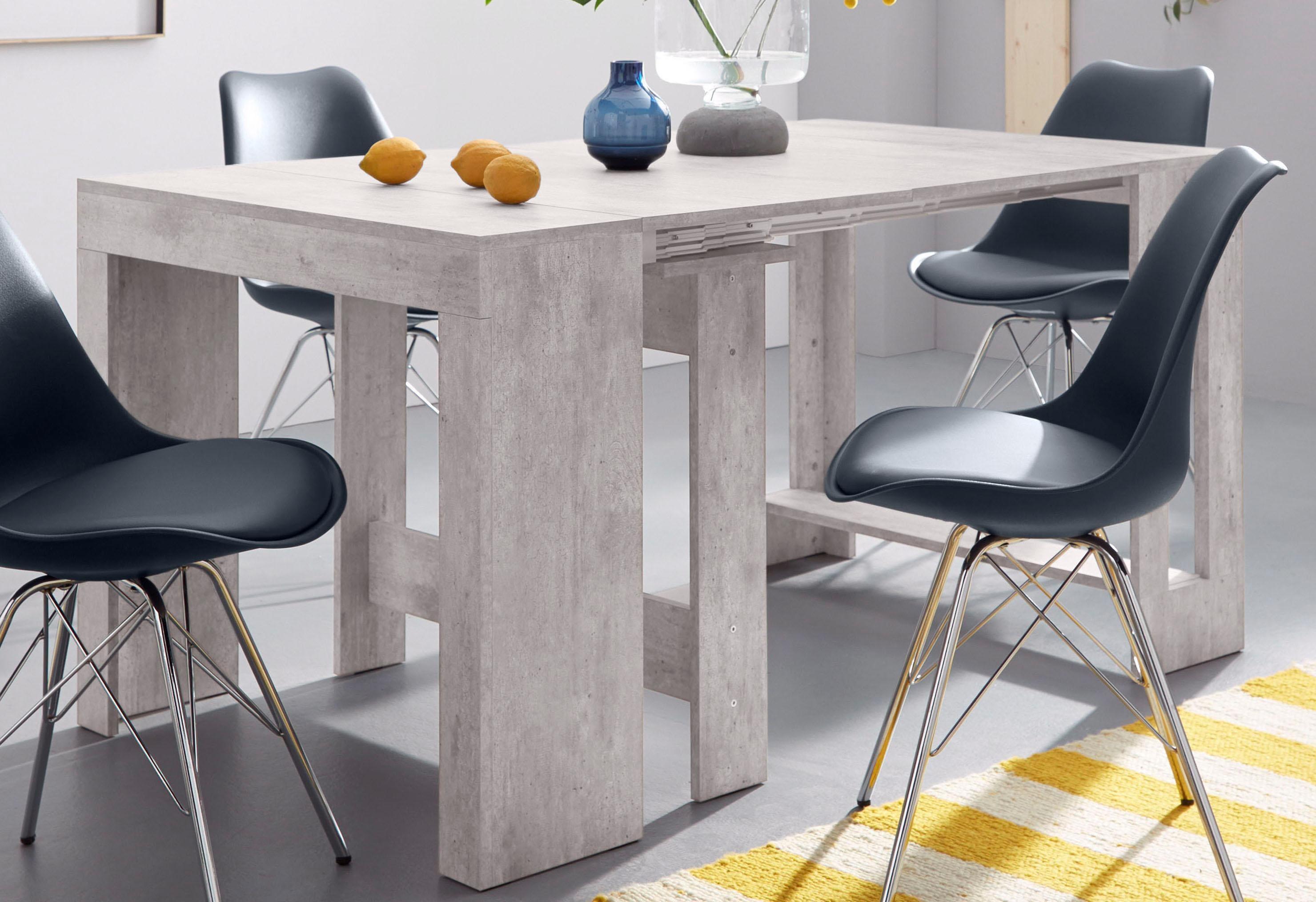 Tecnos Esstisch Praktika, ausziehbar auf 300 cm grau Ausziehbare Esstische Tische