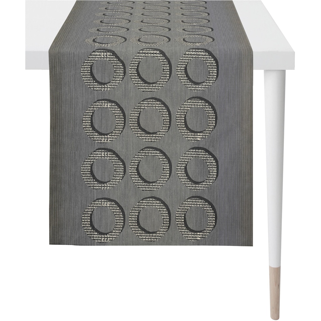 APELT Tischläufer »1710 Loft Style«, Jacquardgewebe