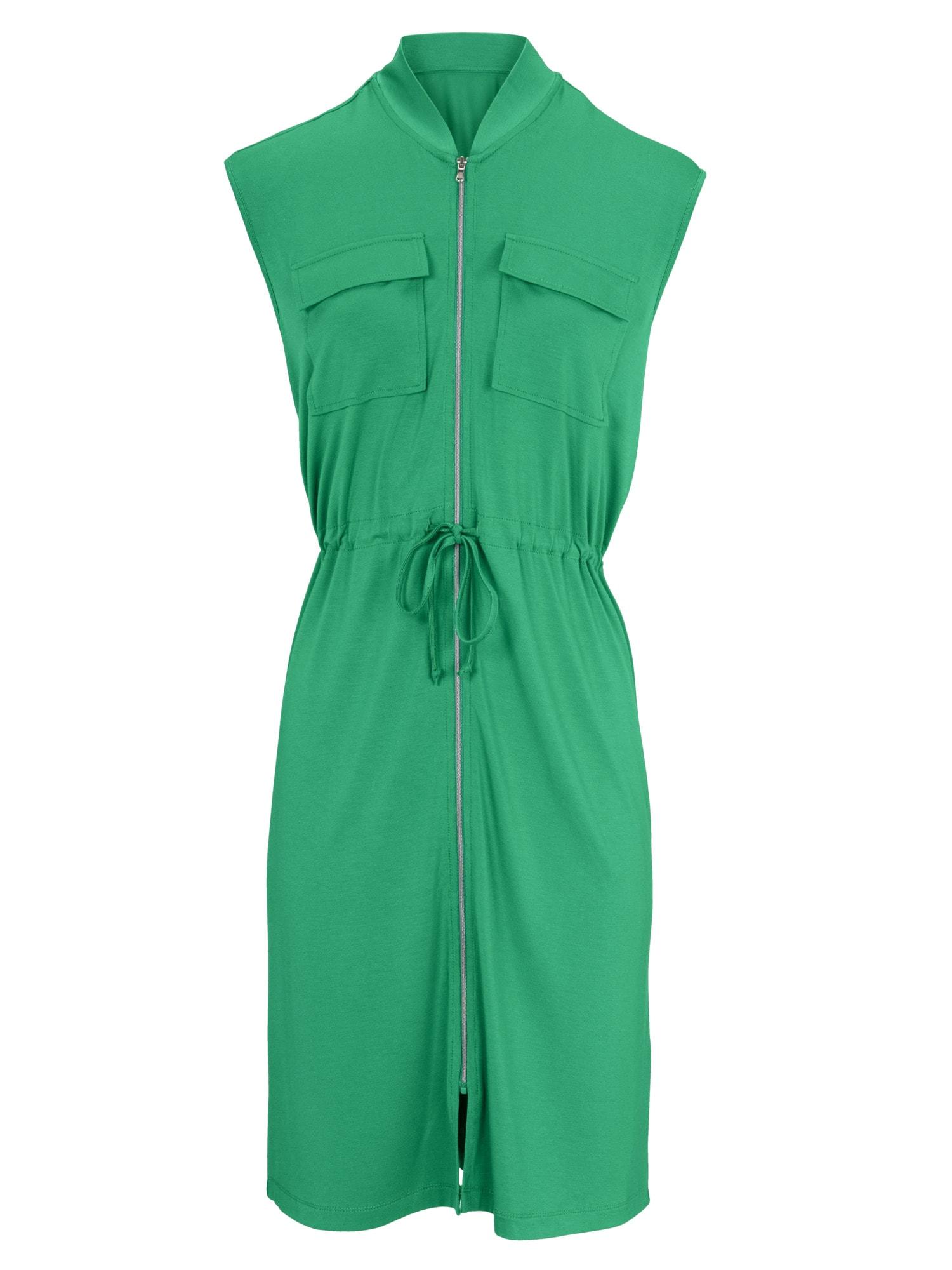 heine CASUAL Jerseykleid mit Zipper
