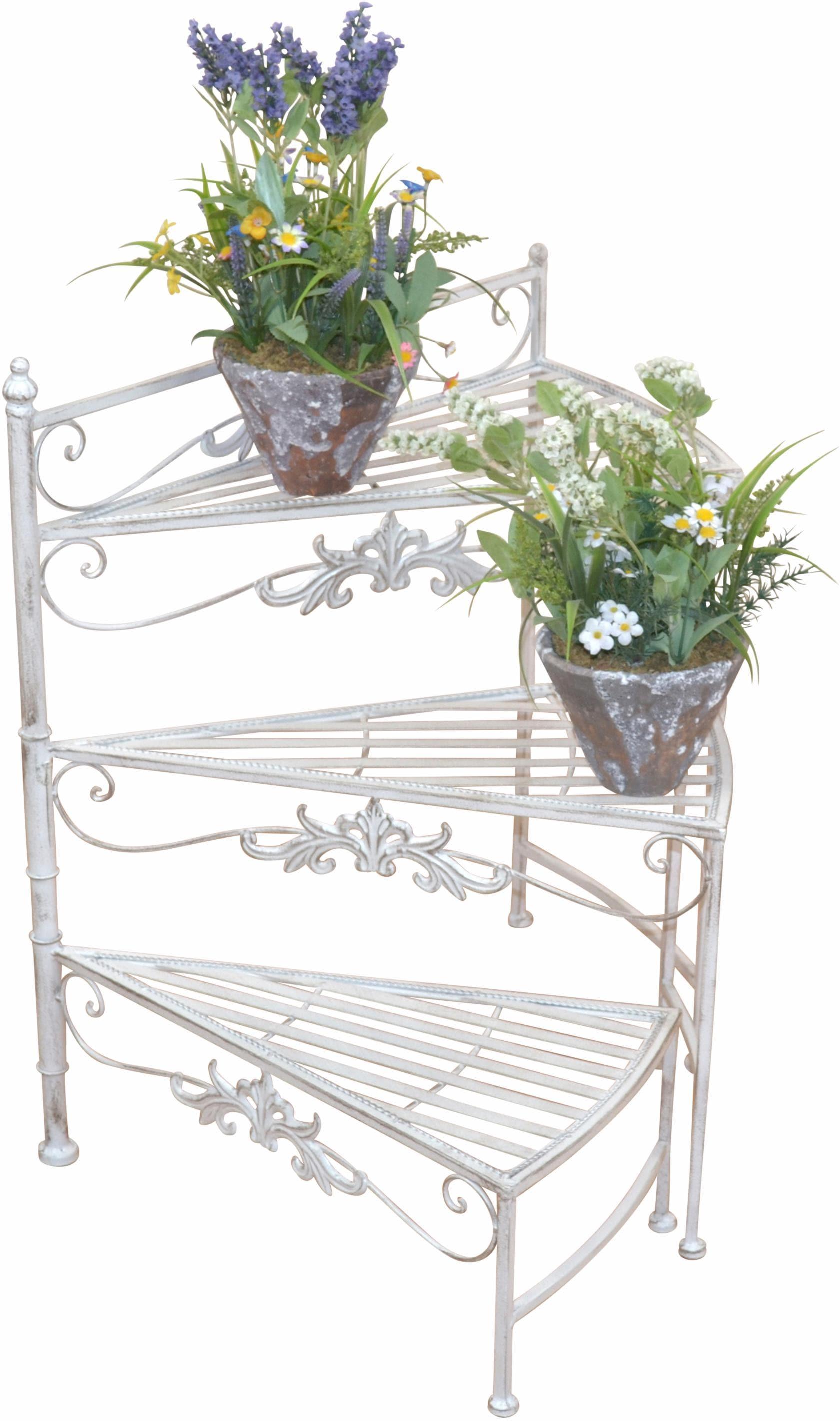 Home affaire Blumenständer Treppe | Baumarkt > Leitern und Treppen | Beige | home affaire