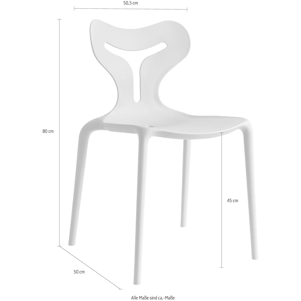 "connubia by calligaris Stapelstuhl ""Area 51 CB/1042"""