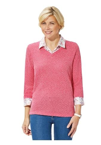 Classic Basics Shirt in schöner 2 - in - 1 - Optik kaufen