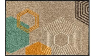 wash+dry by Kleen-Tex Fußmatte »Callisto«, rechteckig, 7 mm Höhe, Fussabstreifer,... kaufen