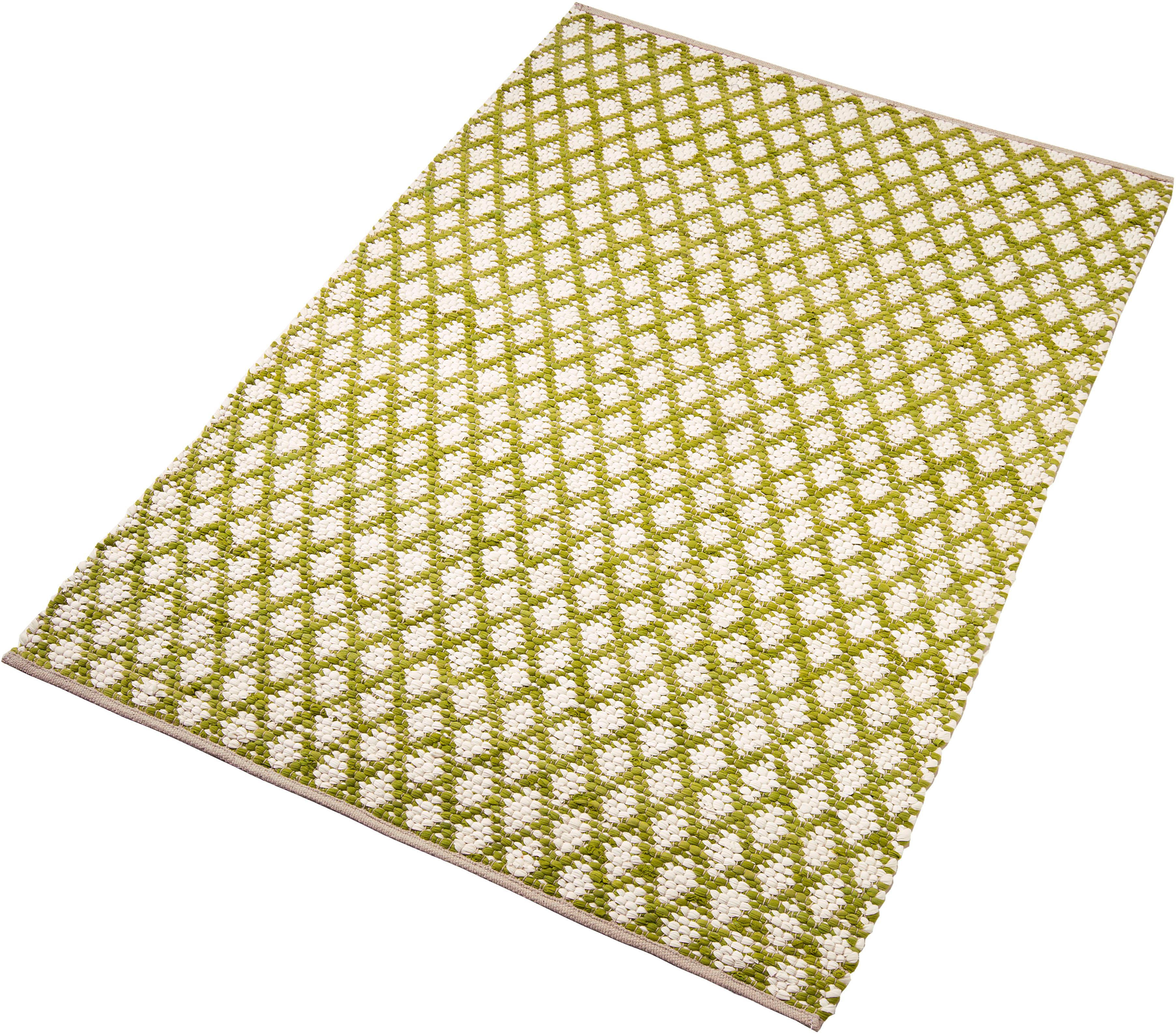 Teppich Edge Home affaire Collection rechteckig Höhe 10 mm handgewebt