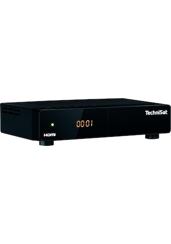 TechniSat SAT-Receiver »HD-S 222«, (LAN (Ethernet) EPG (elektronische Programmzeitschrift)-Sleeptimer-USB-Mediaplayer) kaufen