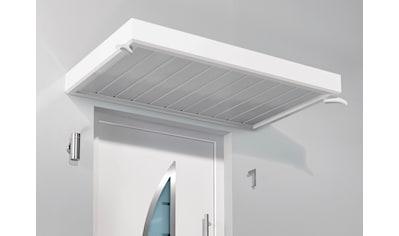 Gutta Vordach »TYP NM«, 200x90x14 cm, weiß kaufen