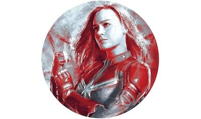 Komar Fototapete »Avengers Painting Captain Marvel«, bedruckt-Comic-Retro-mehrfarbig,... kaufen