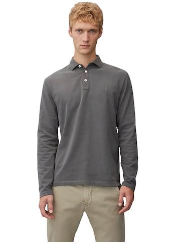 Marc O'Polo Langarmshirt, mit Polokragen kaufen
