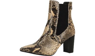 Buffalo High-Heel-Stiefelette »Lederimitat« kaufen