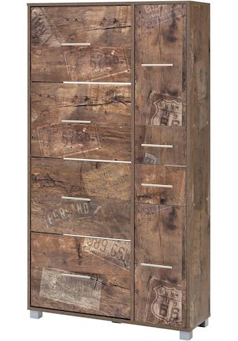 Schildmeyer Schuhschrank »Pisa«, Breite 88,5 cm, mit 4 Klappen kaufen