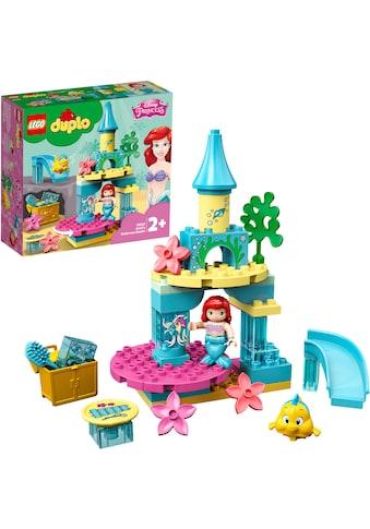 """LEGO® Konstruktionsspielsteine """"Arielles Unterwasserschloss (10922), LEGO® DUPLO® Disney Princess"""", Kunststoff, (35 - tlg.) kaufen"""