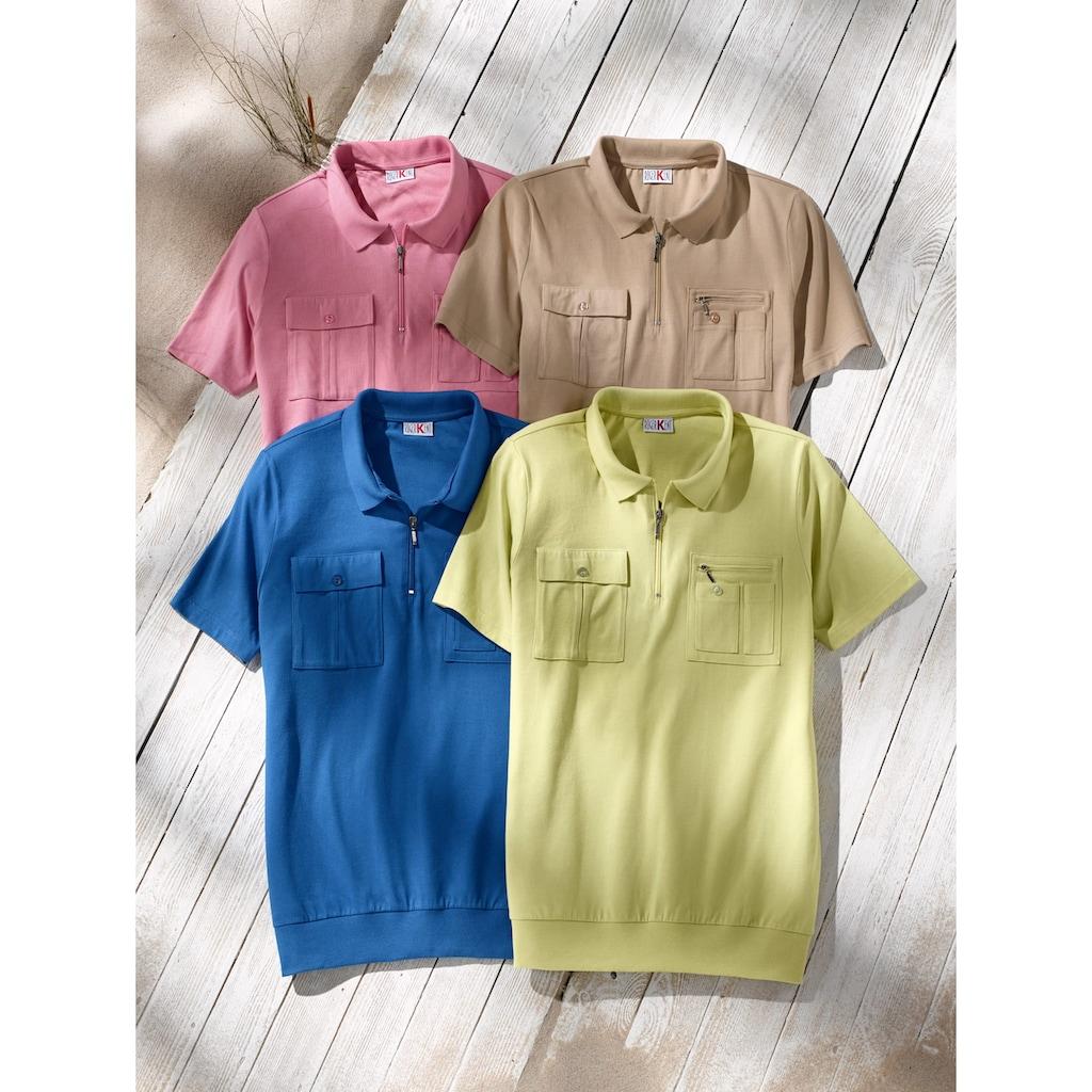 Roger Kent Poloshirt, mit praktischen Brusttaschen
