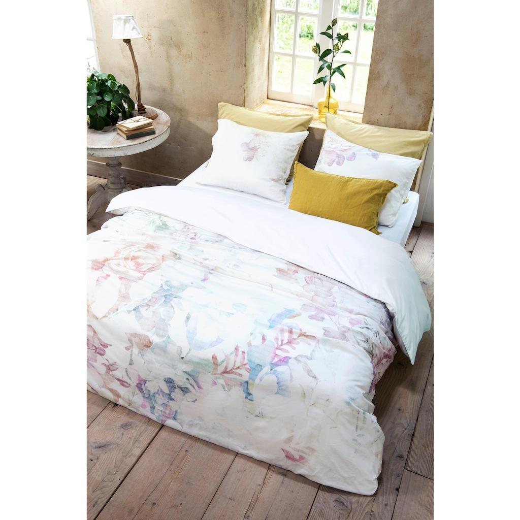 Walra Original Wendebettwäsche »Morning Sun«, mit pastelligen Blumenmotiven