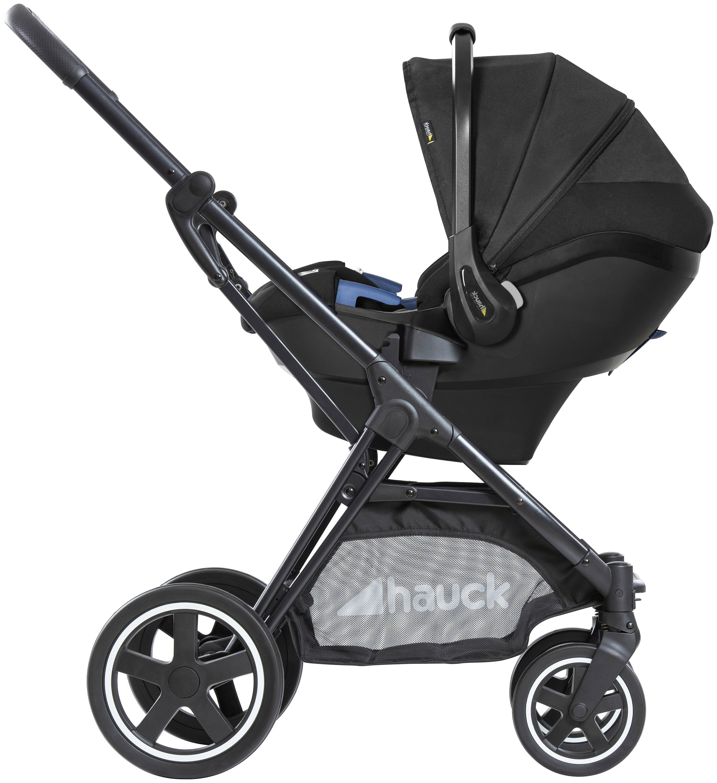 Hauck Babyschale select BABY i-size, Klasse 0+ (bis 13 kg), 40 - 85 cm schwarz Baby Babyschalen Autositze Zubehör