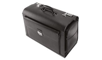 Alassio® Pilotenkoffer »Verona«, aus Leder mit Laptopfach kaufen