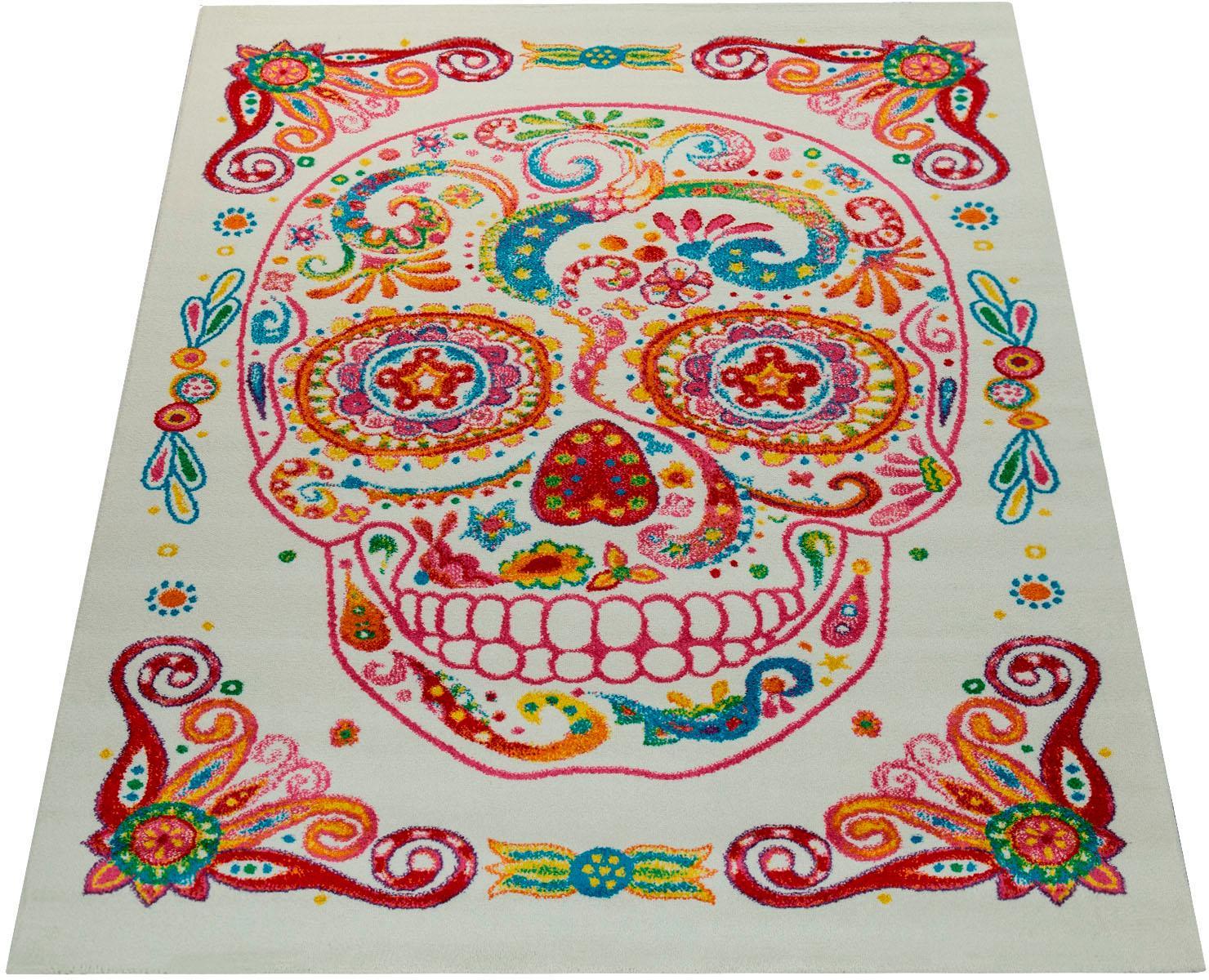 Teppich Canvas 982 Paco Home rechteckig Höhe 18 mm maschinell gewebt