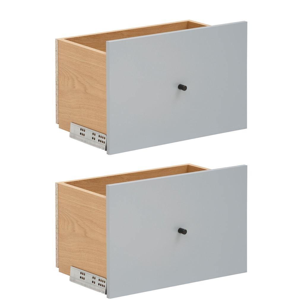 OTTO products Schubkasten »Ellen«, aus furnierter Eiche