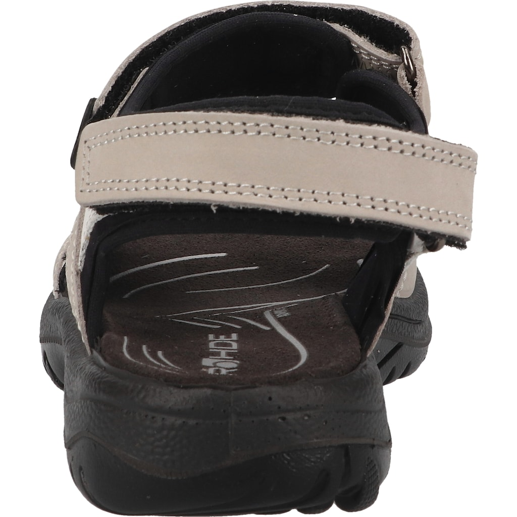 Rohde Sandale »Nubukleder«