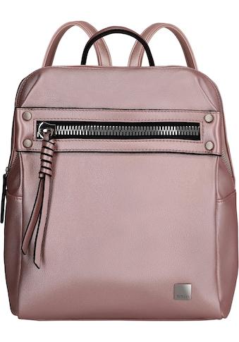 TITAN® Cityrucksack »Spotlight Zip, Metallic Pink« kaufen