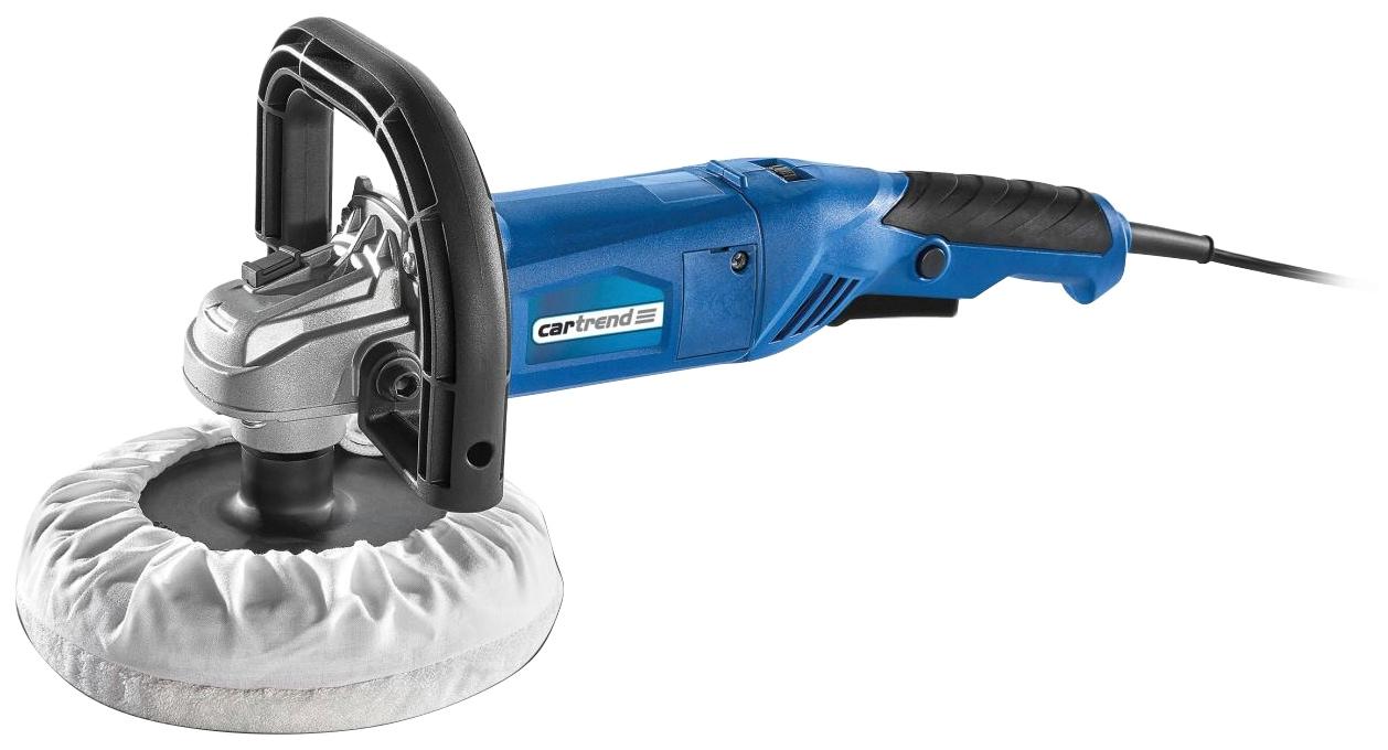 Cartrend Poliermaschine Profi blau Autopflege Autozubehör Reifen