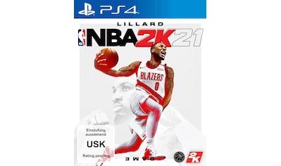 2K Spiel »NBA 2K21«, PlayStation 4 kaufen