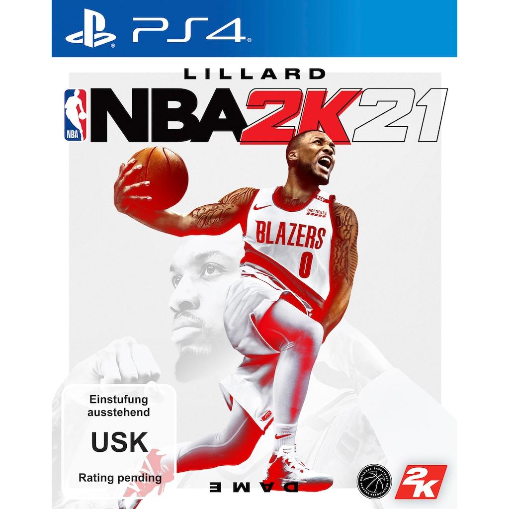 2K Spiel »NBA 2K21«, PlayStation 4