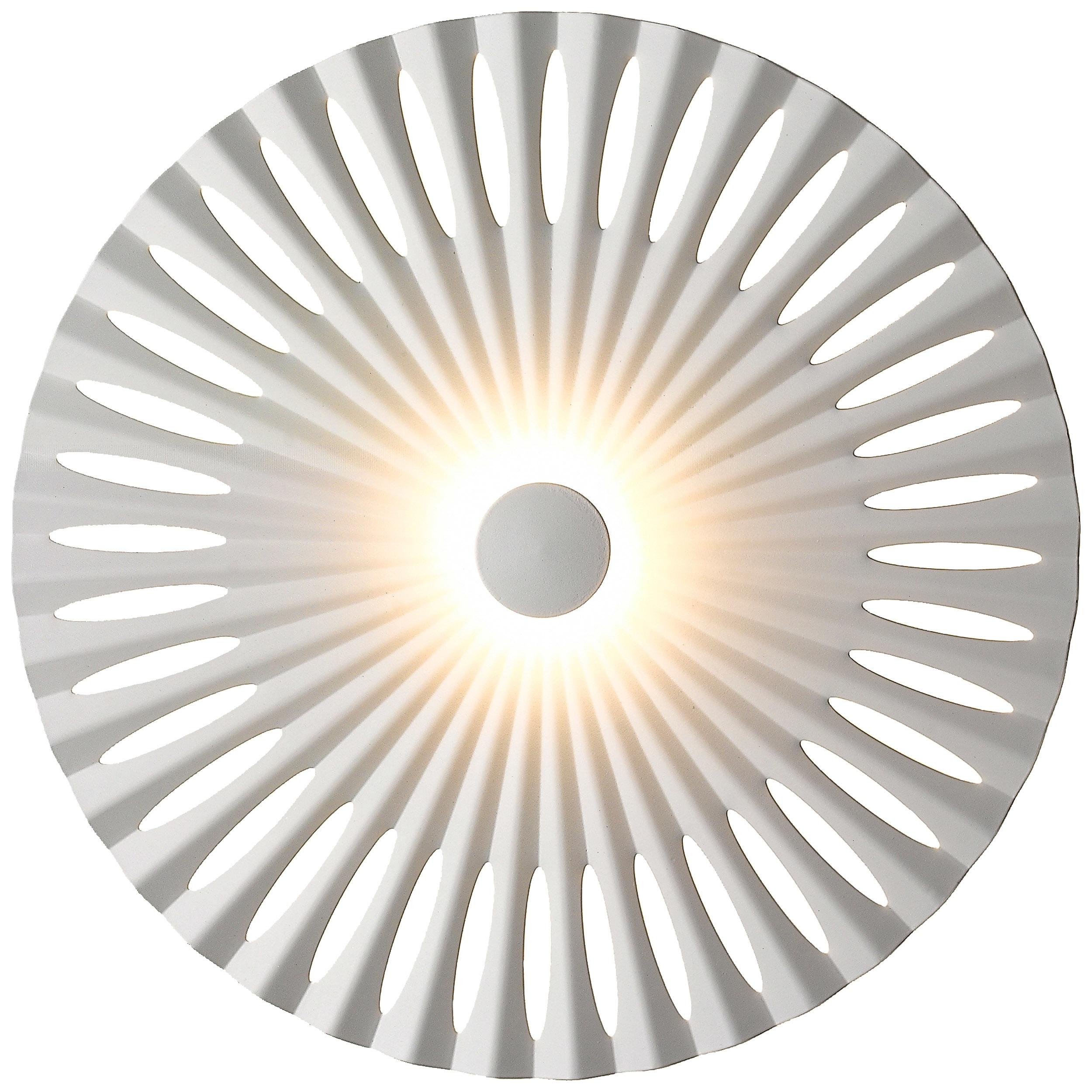 Brilliant Leuchten Phinx LED Wandleuchte 25cm weiß