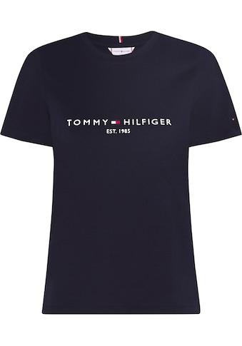 Tommy Hilfiger Rundhalsshirt »HERITAGE HILFIGER C-NK REG TEE«, mit gesticktem Tommy... kaufen