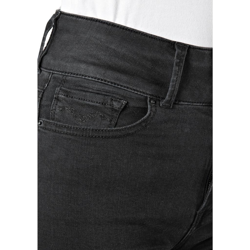 Replay Skinny-fit-Jeans, hochwertige Denim-Qualität mit Elasthan