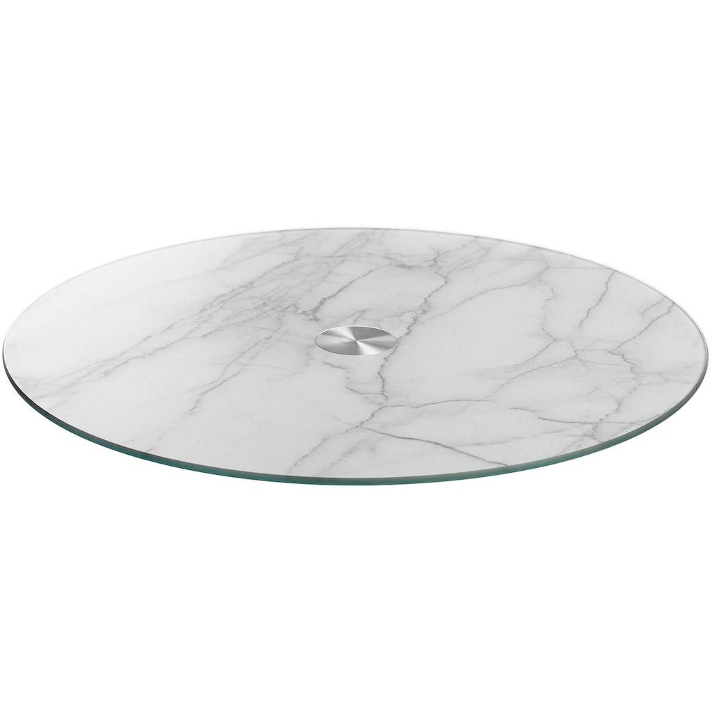 LEONARDO Servierplatte »Turn«, Marmoroptik, 33 cm