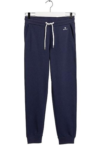 Gant Jogger Pants, mit kontrastfarbener Kordel kaufen