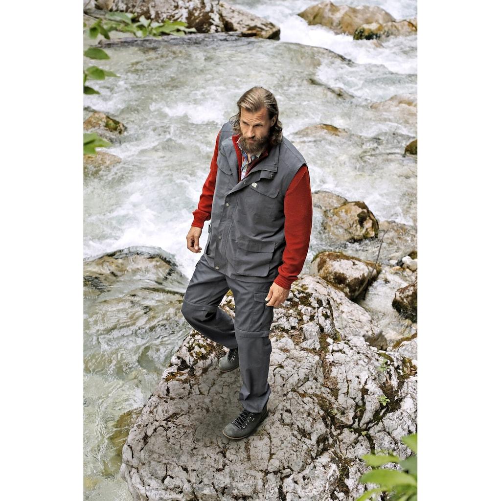 Jan Vanderstorm Funktionsweste »HELMBOT«, mit vielen praktischen Taschen