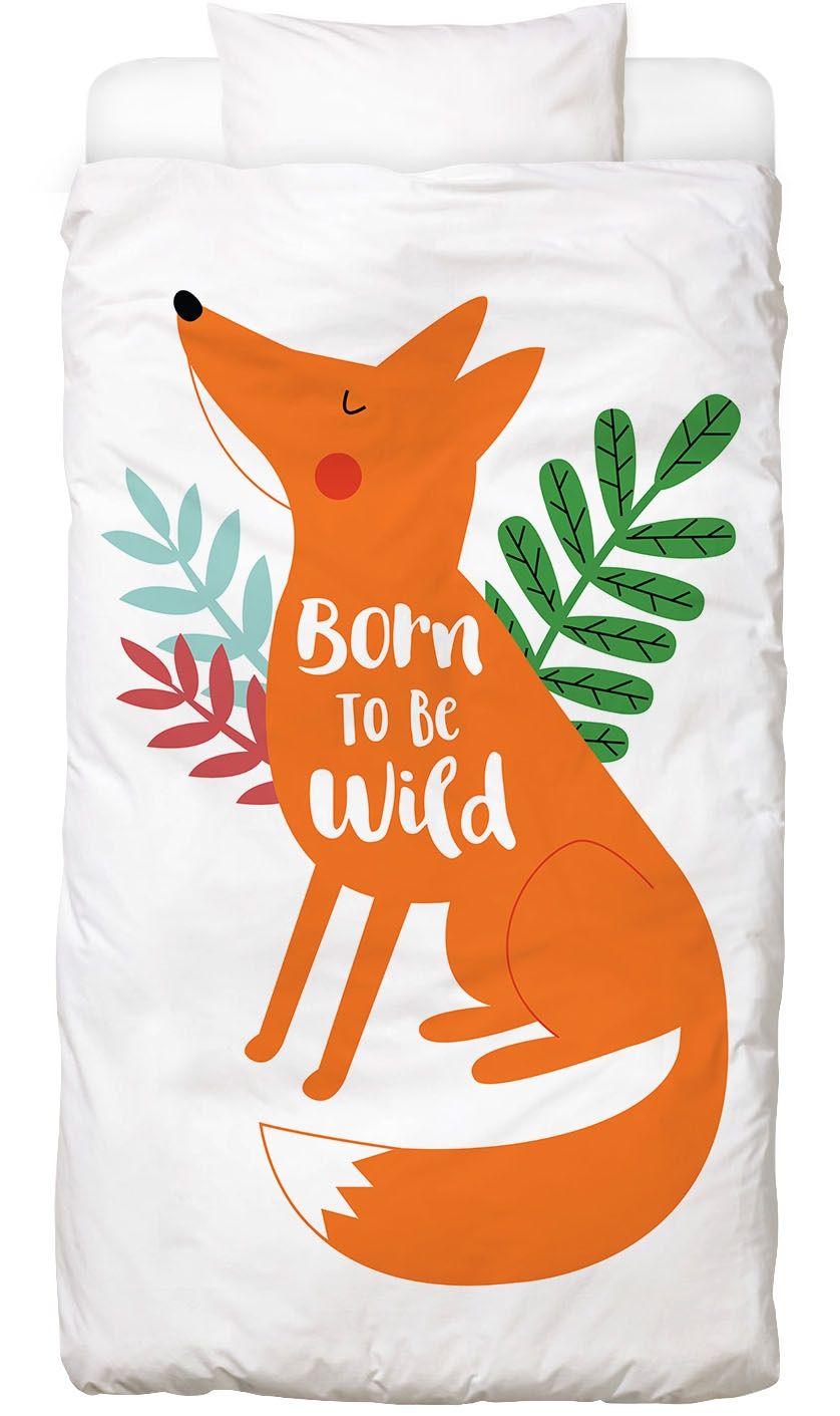 Bettwäsche Born to Be Wild Fox Juniqe