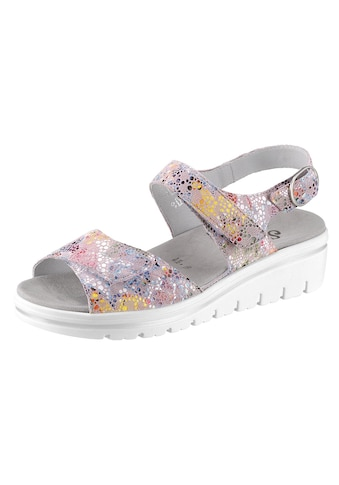Semler Sandale mit Leder - Klettwechselfußbett kaufen