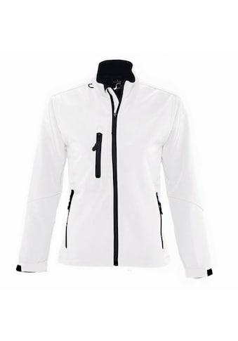 SOLS Softshelljacke »Damen Roxy Softshell-Jacke, atmungsaktiv, winddicht,... kaufen